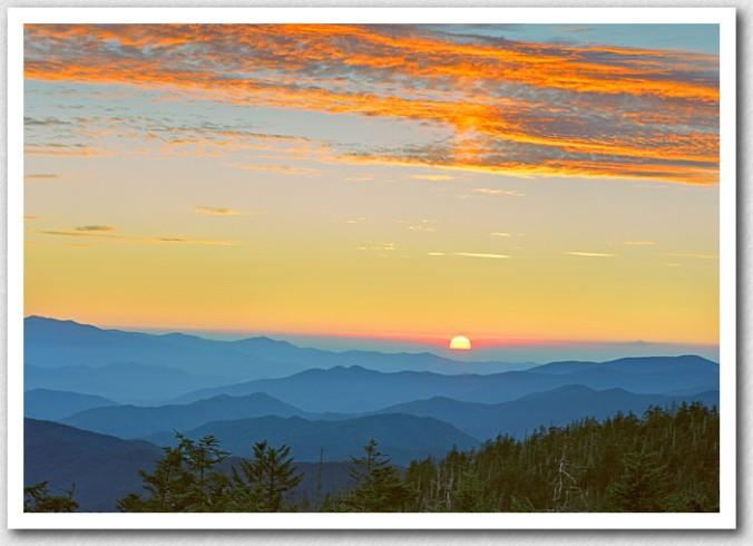NC sunset