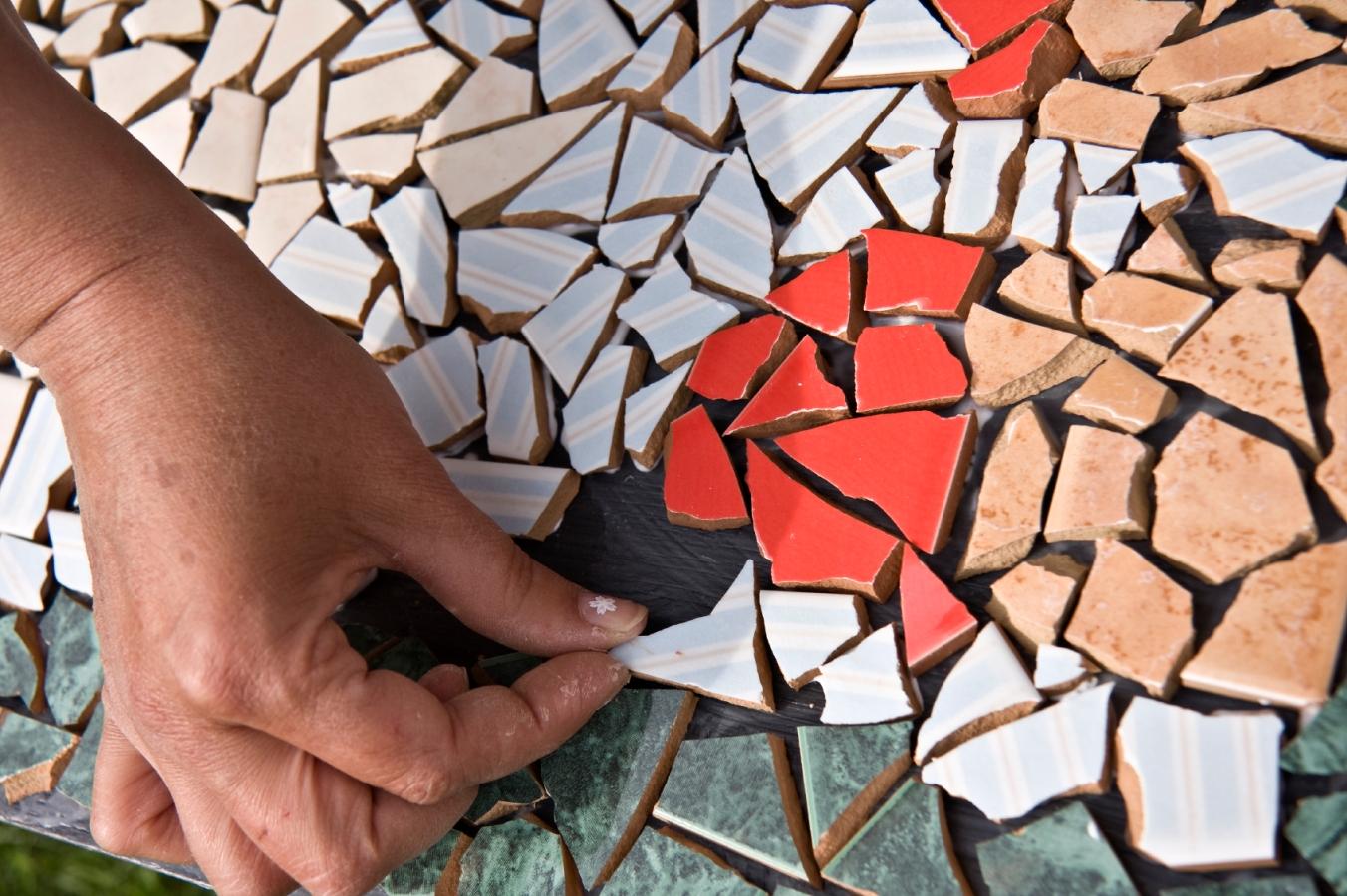 Плитка мозаика из дерева своими руками
