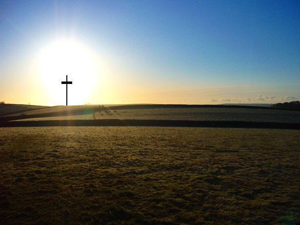 cross desert