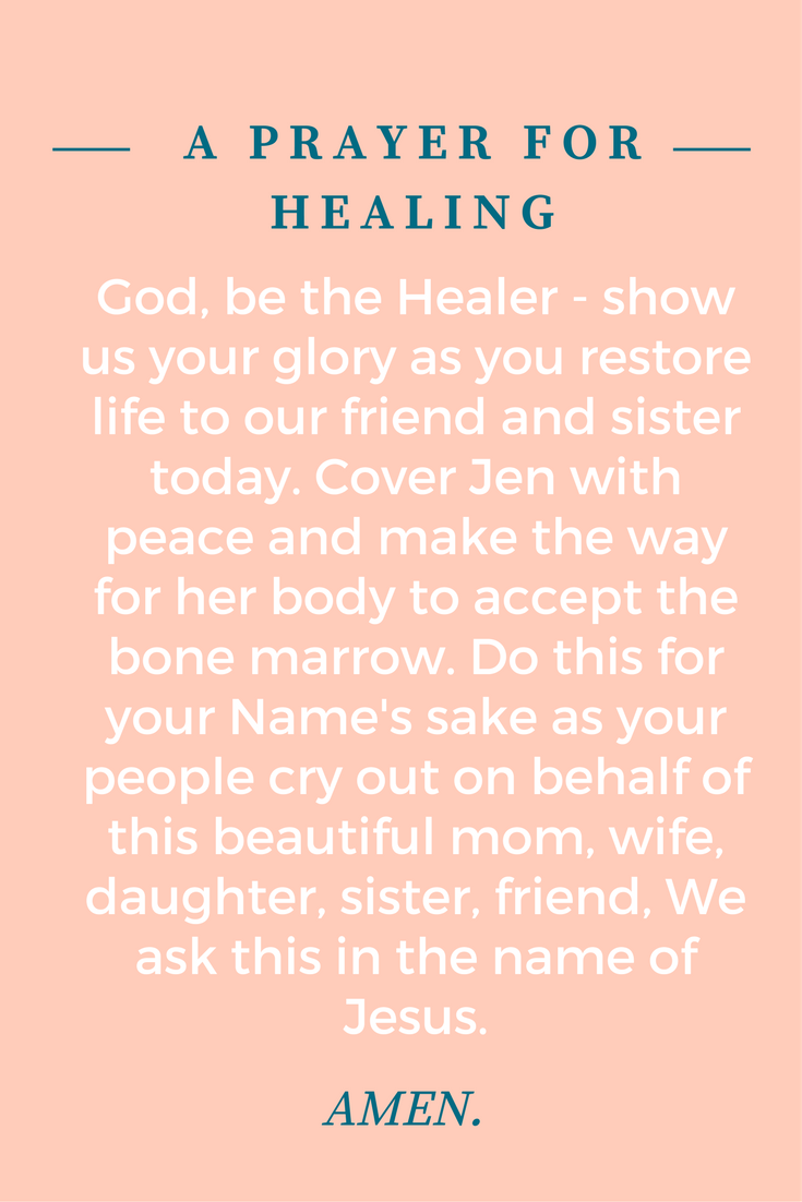 A prayer for her